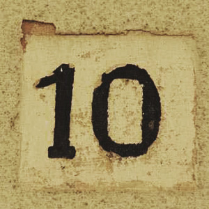 Number 10 - Ten in numerology