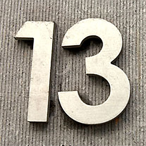 Numerology - Number 13 Thirteen