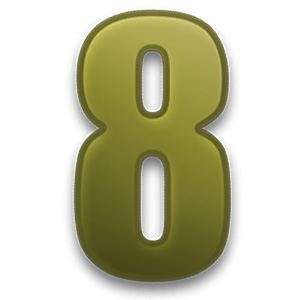 Number 8 - Eight in numerology