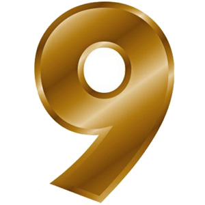 The number 9 of individual