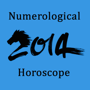 Numerological horoscope 2014